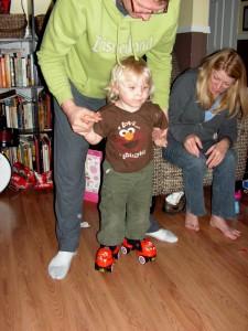 New skates - Just like Gigi's!